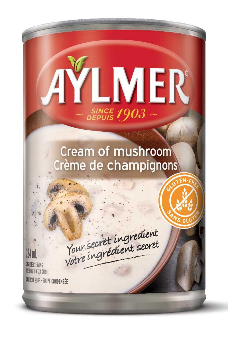 Cream of mushroom   Crème de champignons