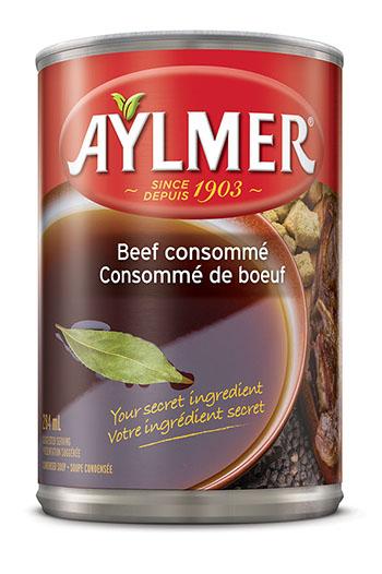 Consomm de boeuf aylmer votre ingr dient secret - Consomme de boeuf maison ...